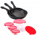 Set Renberg - collection COTIDIANO: set pans and