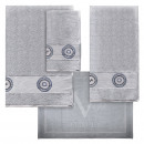 set 3 towels + mat versace 19v69 abbiglia