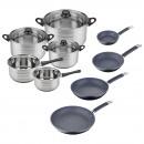 kitchen set 8 p. sip + set of pans s