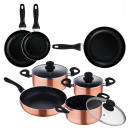 sip copper battery set 7 pcs + set frying pan