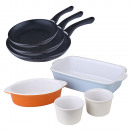 set san ignacio: 3 pans + 4 baking dishes