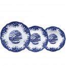 KITCHEN - 18 pieces of porcelain crockery