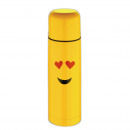 wholesale Thermos jugs: THERMO 750ML  STAINLESS EDITION EMOTICON - CO