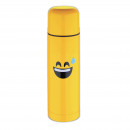 wholesale Thermos jugs: THERMO 750ML  STAINLESS STEEL  EDITION EMOTICON - ...