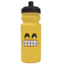 wholesale Lunchboxes & Water Bottles: PLASTIC BOTTLE  600ML EDITION EMOTICON - TEETH