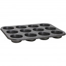 wholesale Business Equipment: 35X26.5X3CM mold  12 MUFFIN BAKE MARBLE STEEL
