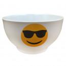wholesale Houshold & Kitchen: BOL GRES 14CM  white sunglasses EMOTICON