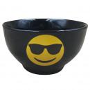 wholesale Sunglasses: BOL 14CM BLACK  SUNGLASSES GRES EMOTICON