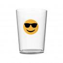 wholesale Sunglasses: 50CL GLASS SUNGLASSES EMOTICON
