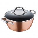 groothandel Potten & pannen: 24X10.5CM 3.8L  braadpan met  deksel ALUMINIUM ...