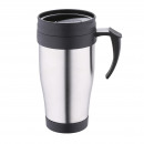 wholesale Thermos jugs: TRAVEL MUG 400ML  STAINLESS STEEL LATTE
