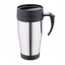 wholesale Thermos jugs: TRAVEL MUG 400ML  STAINLESS STEEL LATTE