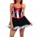ingrosso Abbigliamento erotico: Costumi - Regina costume rosso