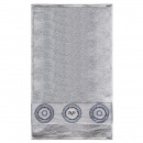 Großhandel Lizenzartikel: Handtuch 30x50 cm grau versace 19v69 abbigliamento