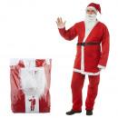 Großhandel Spielwaren:-Weihnachtsmann Kostüm, 5-teilig