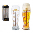 groothandel Weerstations: Gigant bierglas Barometer , 1.5l