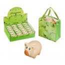 Glücksschwein in klein Geschenktüte
