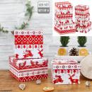 hurtownia Upominki & Artykuly papiernicze: Zestaw pudełek Nordic Xmas , 6 części, kwadratowy