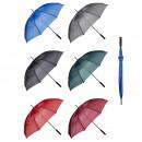 Großhandel Regenschirme: Gästeschirm, manuell, 6-fach sortiert 128cm ...