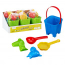 Sand toy 5 pieces,