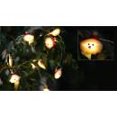 nagyker Fényfüzérek: LED fénylánc Santa , 10LED, 165cm