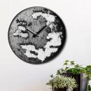 groothandel Klokken & wekkers: Wandklok, pailletten, doorsnede ca. 30 cm
