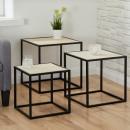 groothandel Meubels: Tafelset kubus, set van 3