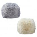 grossiste Accessoires cheveux: Pouf, fourrure décorative, cheveux longs, 2- ...