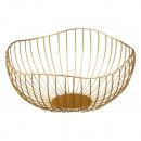 Ciotola onda, oro, diametro 25 cm circa