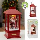 wholesale Decoration: Snow lantern Santa M, approx. 40cm