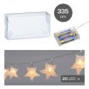 nagyker Lámpák: LED tündérlámpák csillogó csillag , 20 LED, ...