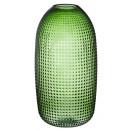 groothandel Bloemenpotten & vazen: Groene vaas, gigantisch, ca. 36 cm hoog