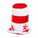 grossiste Accessoires cheveux: Mini bonnet à LED Père Noël , avec clip