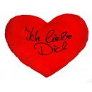 mayorista Artículos de regalo: Almohada de corazón Ich liebe dich , XXL, ...