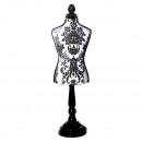 groothandel Kantoor- & winkelbenodigdheden: Decoratieve kleermakersbuste klein 48cm