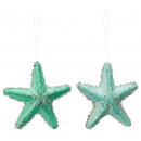 groothandel Poppen & Pluche: Zeester, glitter, 2- maal geassorteerd , ...