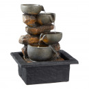 LED indoor fountain, design 1, approx. 28cm high