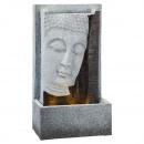 Fontaine LED, Buddha , angulaire, EXTÉRIEUR, env.5