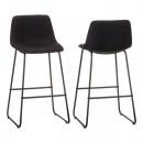 nagyker Kis méretű bútorok: bárszék Lounge , párnázott, fekete, kb. 100 cm mag