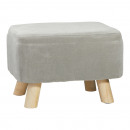 stool rectangular, gray, approx. 28cm high