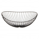 Decorative bowl Wave, black, large, approx. 38x34c