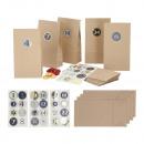 Kit DIY calendrier de l'Avent, 48 pièces