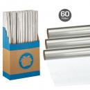 Großhandel Geschenkartikel & Papeterie: Geschenkfolie Transparent 70x200cm