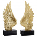 Angel wings on stand, 2- times assorted , L, appro