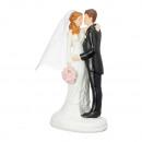 Dekoratív menyasszonyi pár, kb. 11 cm magas