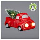 grossiste Maison et habitat: Camion avec sapin de Noël avec éclairage LED, peti