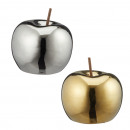 Pomme décorative, 2- fois assorti , grand, environ
