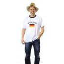 Großhandel Sportbekleidung: Fußball T-Shirt Trikot Deutschland Erw.