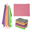 Microfibre cloth set, 5 pieces, 40x30cm, 28g