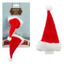 grossiste Accessoires cheveux: Pince à cheveux Père Noël , lot de 2, env. 8 cm